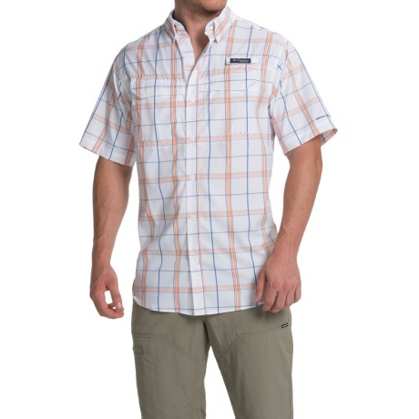 Columbia Sportswear Super Low Drag Shirt - Omni-Wick®, Short Sleeve (For Men)