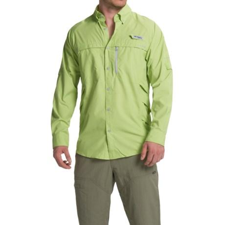 Columbia Sportswear PFG Airgill Solar Shirt - Omni-Freeze® ZERO, UPF 50, Long Sleeve (For Men)