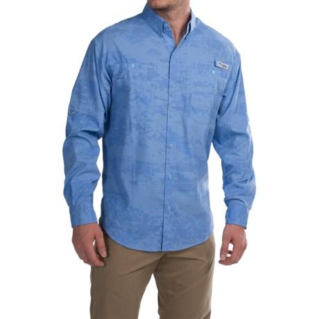 Columbia Sportswear Solar Camo Shirt - Omni-Wick®, UPF 50, Long Sleeve (For Men)