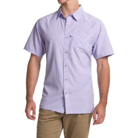 Columbia Sportswear PFG Slack Tide Camp Shirt - Omni-Wick®, UPF 50, Short Sleeve (For Men)
