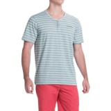 Columbia Sportswear Lookout Point Henley Shirt - Short Sleeve (For Men)