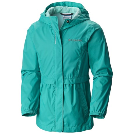 Columbia Sportswear Pardon My Trench Rain Jacket (For Little and Big Girls)