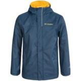 Columbia Sportswear Watertight Omni-Tech® Rain Jacket - Waterproof (For Big Boys)