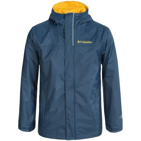 Columbia Sportswear Watertight Omni-Tech® Rain Jacket - Waterproof (For Big Boys)