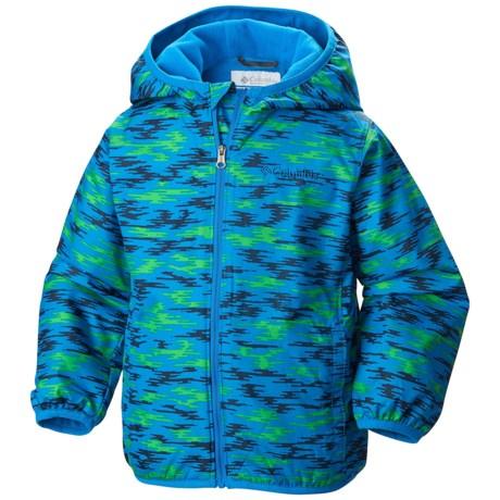 Columbia Sportswear Mini Pixel Grabber 2 Wind Jacket (For Toddlers)