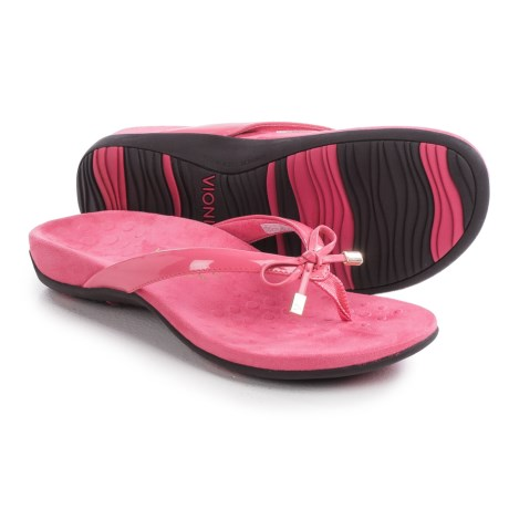 Vionic with Orthaheel Technology Bella II Flip-Flops (For Women)