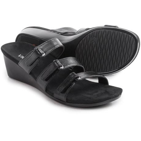 Vionic with Orthaheel Technology Dwyn Sandals - Wedge Heel (For Women)