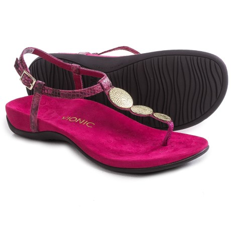 Vionic with Orthaheel Technology Lizbeth T-Strap Sandals (For Women)