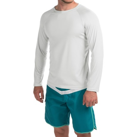 Teal Cove Raglan Rash Guard - UPF 20+, Long Sleeve (For Men)