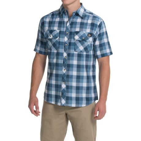 Dickies Contemporary Fit Camp Shirt - Short Sleeve (For Men)