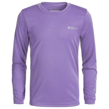 Columbia Sportswear Terminal Tackle Omni-Wick® T-Shirt - UPF 50+, Long Sleeve (For Little and Big Boys)