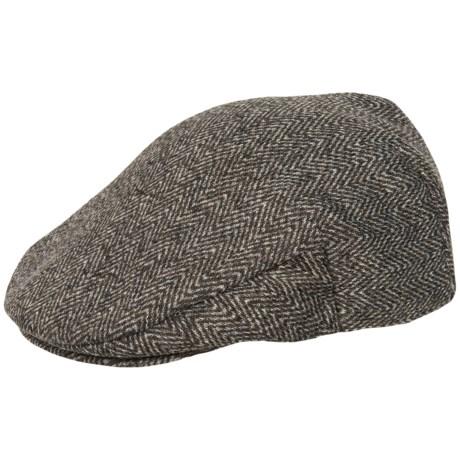 Weatherproof Herringbone Sweater Fleece Driving Cap (For Men)