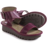 Fly London Kitz Platform Sandals - Leather (For Women)