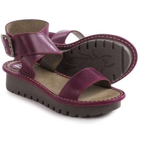 Fly London Kitz Platform Sandals - Leather (For Women)