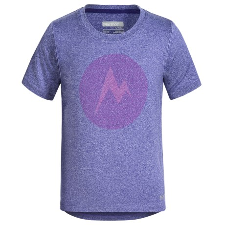 Marmot Post Time T-Shirt - UPF 30, Short Sleeve (For Little and Big Girls)