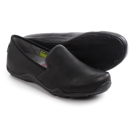 Ahnu Penny Pro Shoes - Leather, Slip-Ons (For Women)