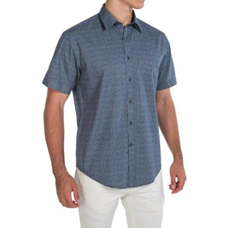 James Campbell Button-Front Shirt - Short Sleeve (For Men)