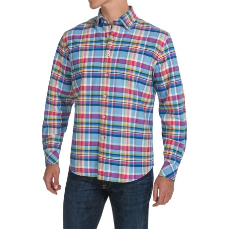 James Campbell Corsan Plaid Shirt - Long Sleeve (For Men)