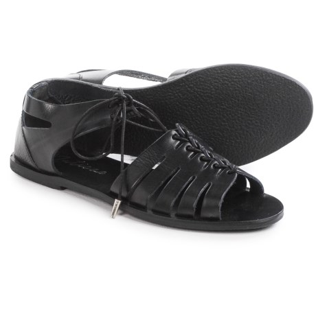 Matisse Nora Lace-Up Sandals - Leather (For Women)
