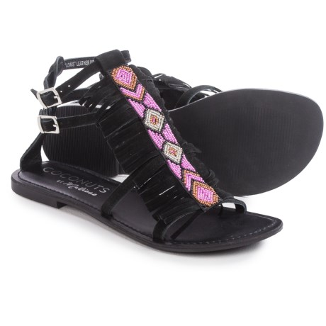 Matisse Lewis Beaded Gladiator Sandals - Leather (For Women)