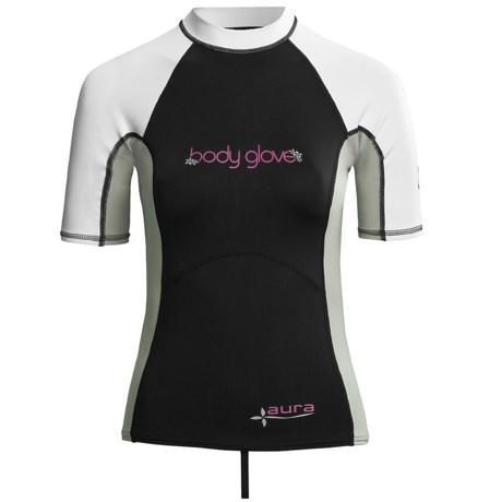 Body Glove Aura Rash Guard - UPF 50, Short Sleeve (For Women)