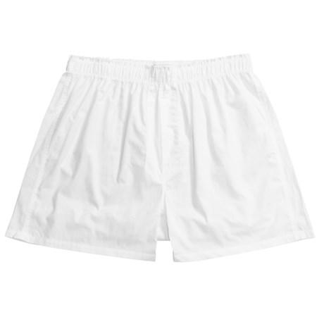 Gitman Brothers Underwear Oxford Cloth Boxer Shorts (For Big Men)