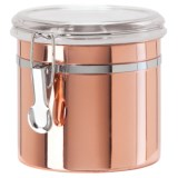 OGGI Copper-Plated Stainless Steel Canister - 42 oz.