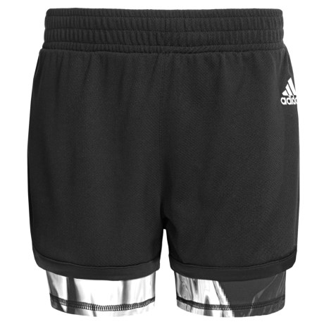 adidas 2-in-1 Shorts (For Big Girls)