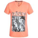 adidas ClimaLite® Logo T-Shirt - Short Sleeve (For Big Girls)