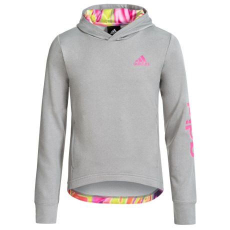 adidas Adidas Hilo Pullover Hoodie (For Big Girls)