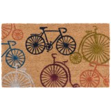 """Home and More Bicycle Doormat - 17x29"""", Coir"""