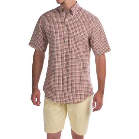 Scott Barber James Compact Poplin Shirt - Short Sleeve (For Men)