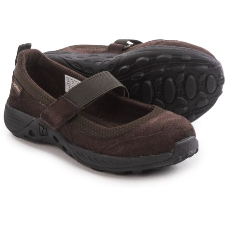 Merrell Jungle Moc Sport Mary Jane Shoes - Suede (For Little and Big Girls)