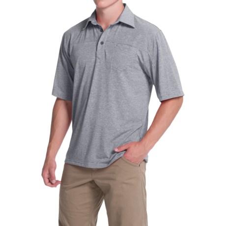 Simms Lowcountry Tech Polo Shirt - UPF 20+, Short Sleeve (For Men)