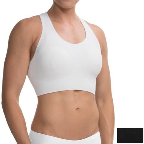 Seamless High-Performance Sports Bra - Medium Impact, Racerback, 2-Pack (For Women)