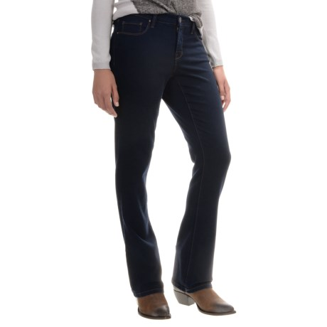Super Stretch Bootcut Jeans (For Women) 152JY - Save 70%