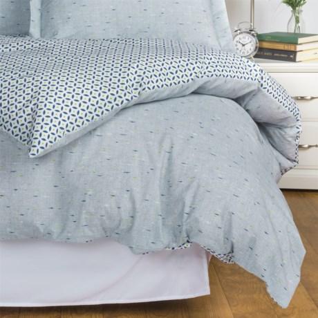Bambeco Cooper Reversible Duvet Cover - King, Organic Cotton