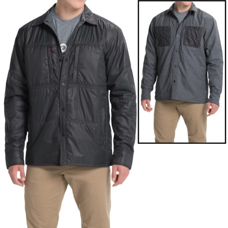 Simms Confluence Flannel Jacket - UPF 50+, Reversible (For Men)