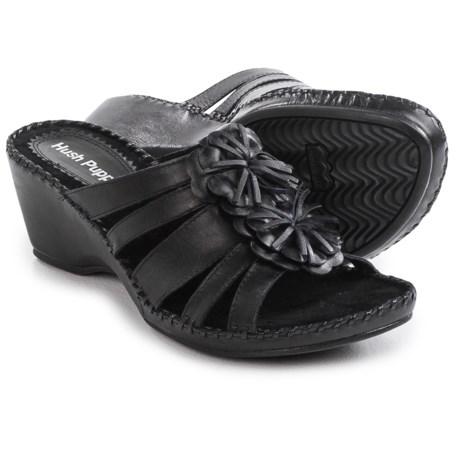 Hush Puppies Gallia Copacabana Wedge Sandals - Leather (For Women)