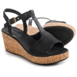 Hush Puppies Blakely Durante Wedge Sandals - Leather (For Women)