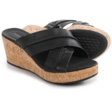 Hush Puppies Belinda Durante Wedge Sandals - Leather (For Women)