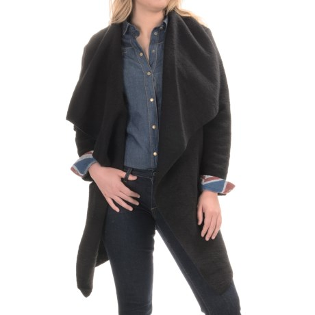 BB Dakota Belted Cardigan Sweater - Wool Blend (For Plus Size Women)