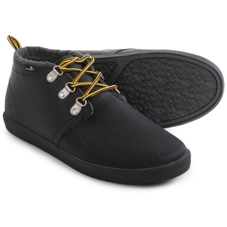 Sanuk Cargo Deluxe Chill Leather Shoes (For Men)