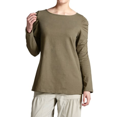 Neon Buddha Metro Shirt - Stretch Cotton, Long Sleeve (For Women)