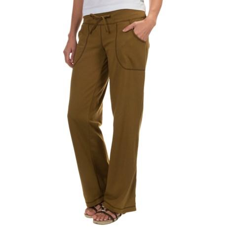 Neon Buddha Johanna Drawstring Pants - Stretch Cotton (For Women)