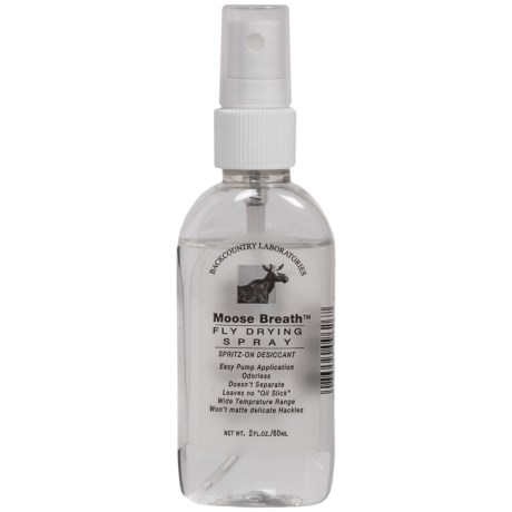 Backcountry Labs Moose Breath Fly Drying Spray - 2 oz.