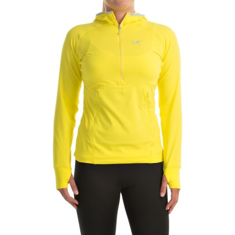 Arc'teryx Zoa Hoodie - Zip Neck (For Women)