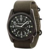 Bertucci A-4T Vintage Black ION Watch - Titanium  (For Men and Women)