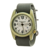 Bertucci A-2T Olive Titanium Watch (For Men and Women)