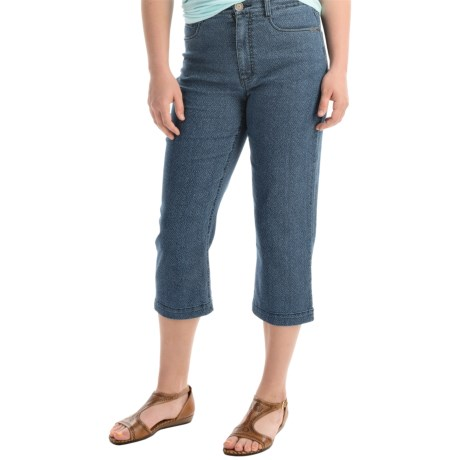 FDJ French Dressing Suzanne Detailed Capris - High Rise (For Women)